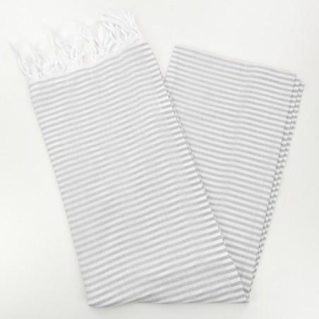 Turkish pareo towel light grey
