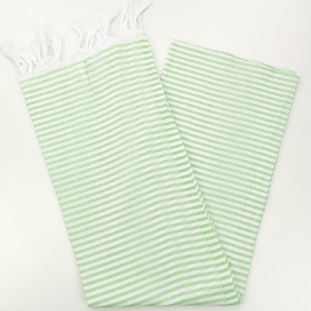 Turkish pareo towel apple green