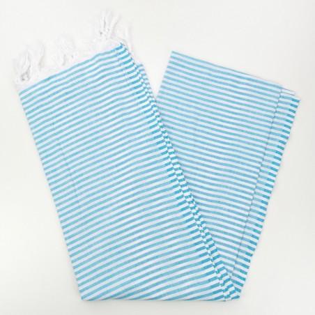 Turkish pareo towel turquoise