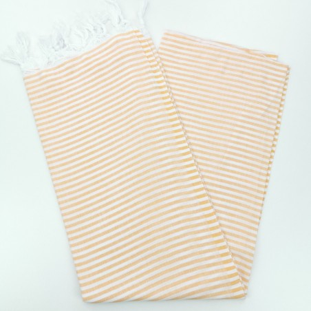 Turkish pareo towel yellow