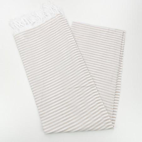 Turkish pareo towel beige