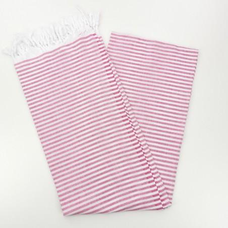 Turkish pareo towel fuchsia