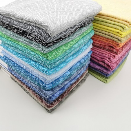 Diamond Turkish towel multicolor wholesale