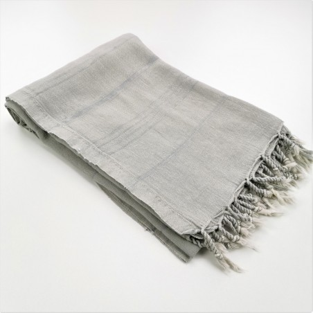 stonewashed Turkish towel beige