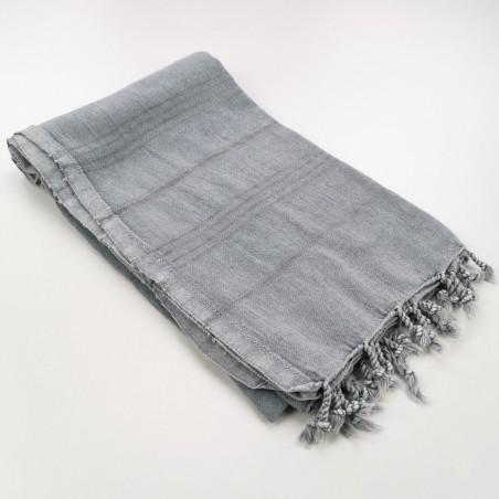 stonewashed Turkish towel grey