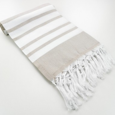 Herringbone weave Turkish towel Capri...
