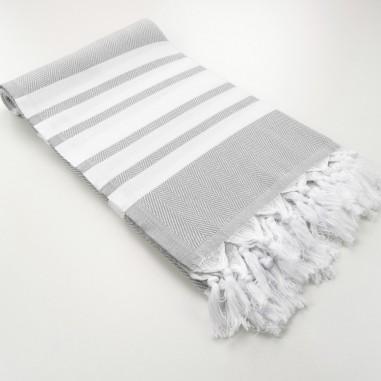 Herringbone weave Turkish towel Capri...