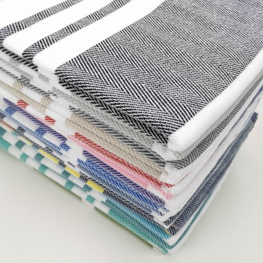 wholesale herringbone towels