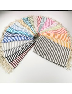 Herringbone weave Turkish towels wholesale