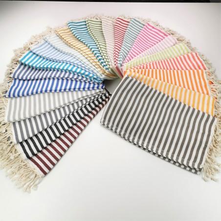 Herringbone weave Turkish towels wholesale