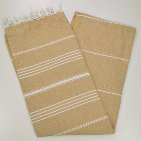 mustard flat sultan peshtemal towel