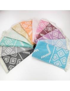 Jacquard Turkish towels Aztec kilim wholesale