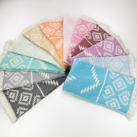 Jacquard Turkish towels Aztec kilim wholesale