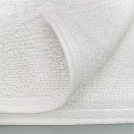 double stitched hotel towel