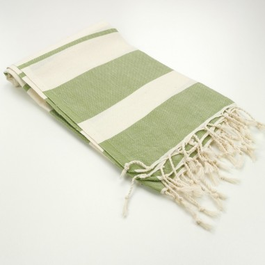 Turkish towel natural ecru cotton...