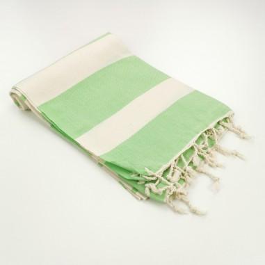 Turkish towel natural ecru cotton...