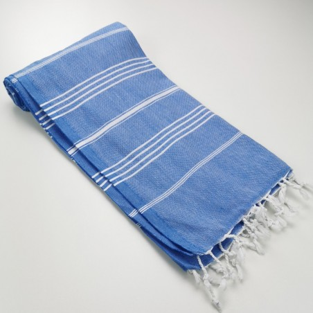 Turkish peshtemal towel royal blue wholesale