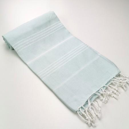 Turkish peshtemal towel mint