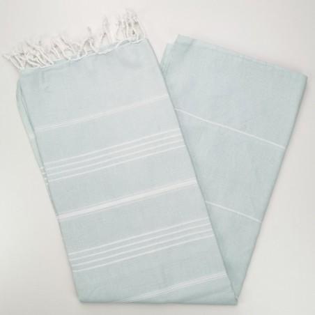 mint flat sultan peshtemal towel