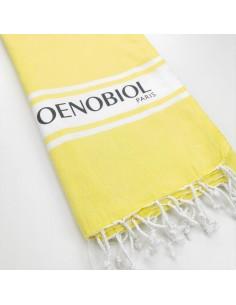printed logo promotional turkish towel