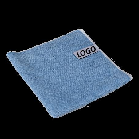 microfibre publicitaire avec etiquette logo