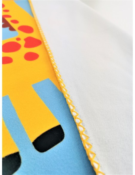personalized sublimation printed polar blanket