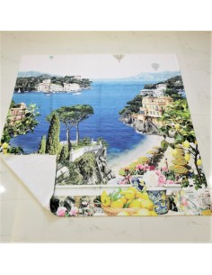 custom digital printed towel