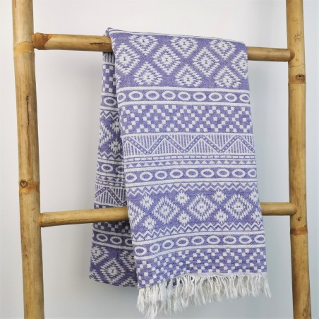 aztec style pattern towel indiana