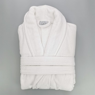 Luxury cotton bathrobe terry and...