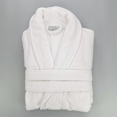 Peignoir coton velours unisexe