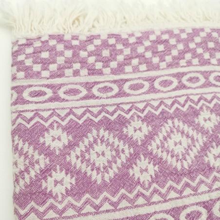 turkish towel jacquard amethyst indiana