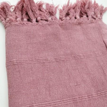 stonewashed turkish peshtemal towel pink purple micro