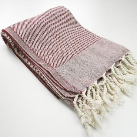 Honeycomb peshtemal towel