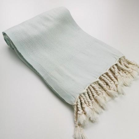 Honeycomb peshtamal towel mint