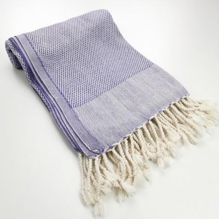 Honeycomb peshtamal towel indigo