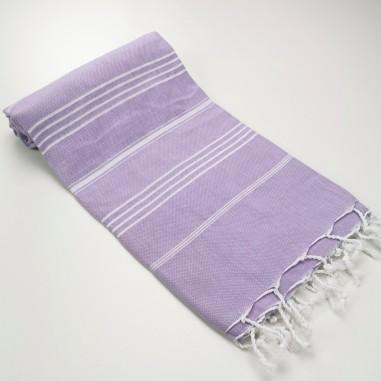 Turkish peshtemal towel lilac