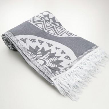 Jacquard Turkish towel Maya kilim