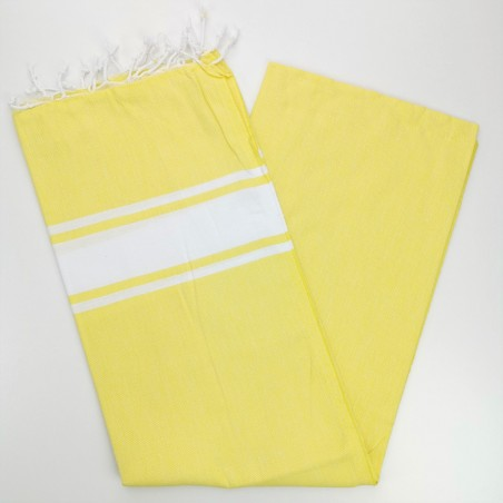 Fouta towel classic Sea chick yellow