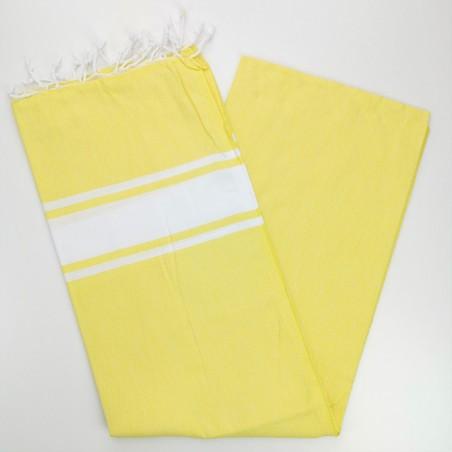 Fouta towel classic Sea chick yellow