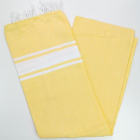 Fouta towel classic Sea dawn yellow