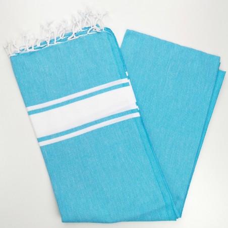 Fouta towel classic Sea orange