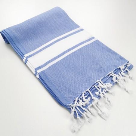 Fouta classique Sea bleu lavande