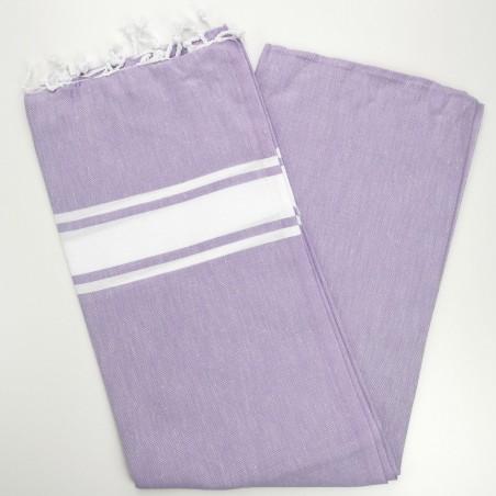 Fouta towel classic Sea lilac