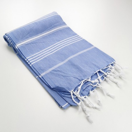 lavender blue turkish peshtemal towel