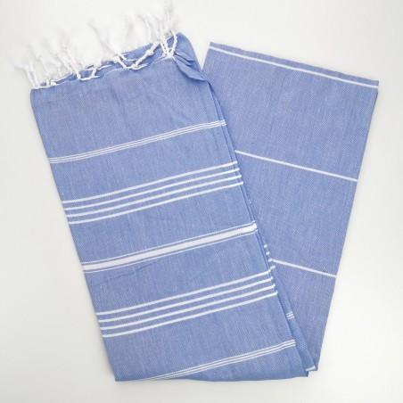 lavender blue turkish towel