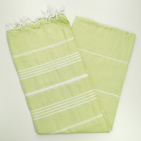 lime green turkish towel