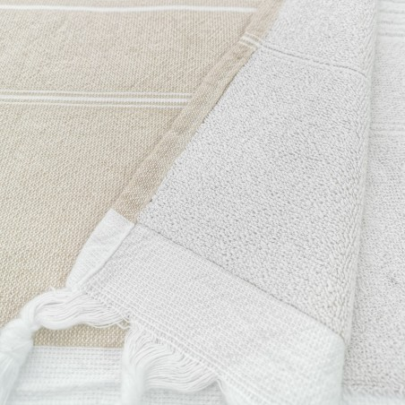 Terry Turkish towel beige