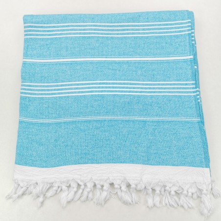 Terry Turkish towel turquoise
