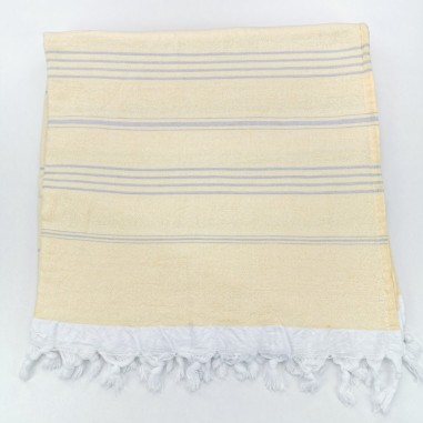 Terry Turkish towel yellow