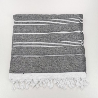 Terry Turkish towel black